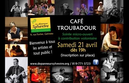 Troubadour 21 avril