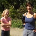 Laurie et Stéphanie